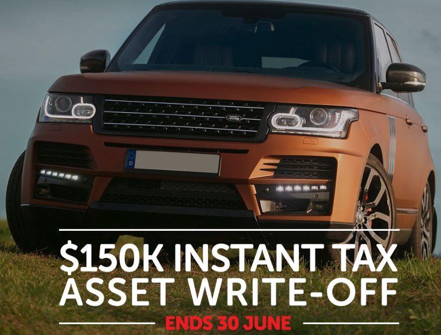 $150k instant tax write-off