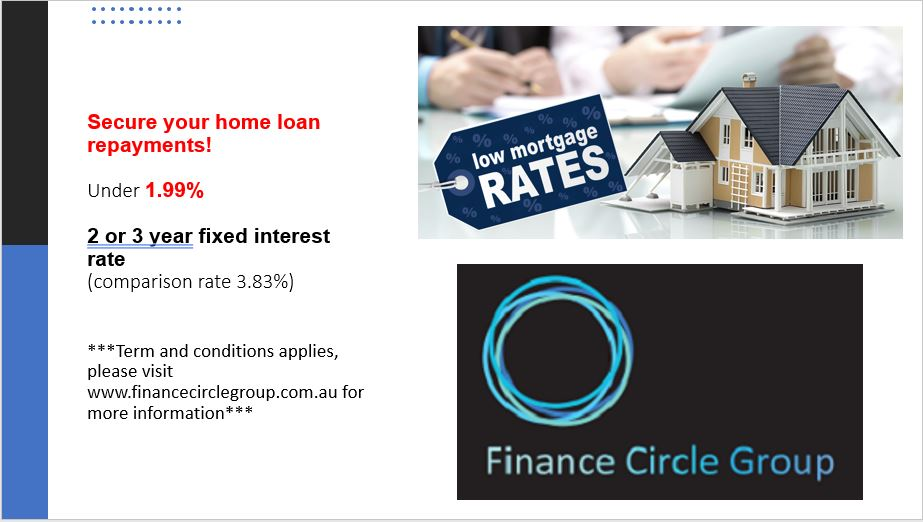 Fixed Rates under 1.99% – Take advantage of lower rates